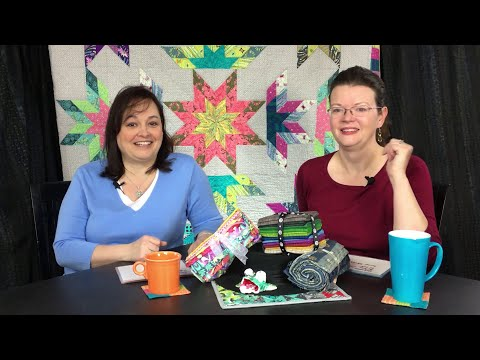 107: Modern quilting, organizing your fabric stash, and piecing quilt backs