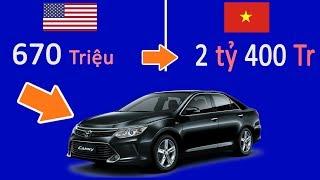 Giá xe VN siêu đắt vì những khoản Thuế này | Cách tính thuế ô tô chuẩn nhất