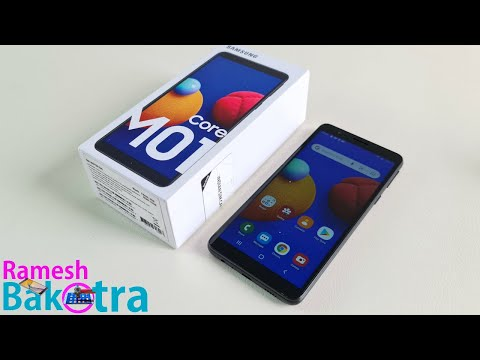 Samsung Galaxy M01 Core Unboxing and Full Review