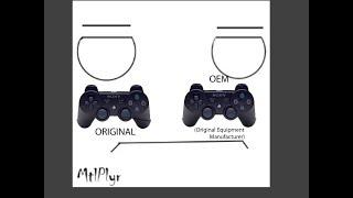 PS3 Controller Original VS OEM (Malaysia)