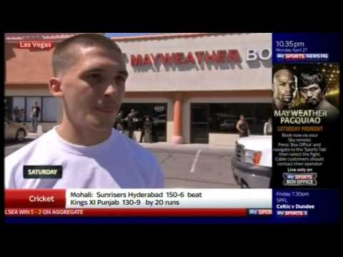 Lee Selby 'Mayweather Will KO Pacquiao'