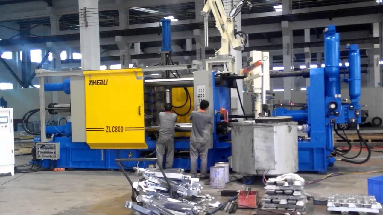 Aluminium die casting machine
