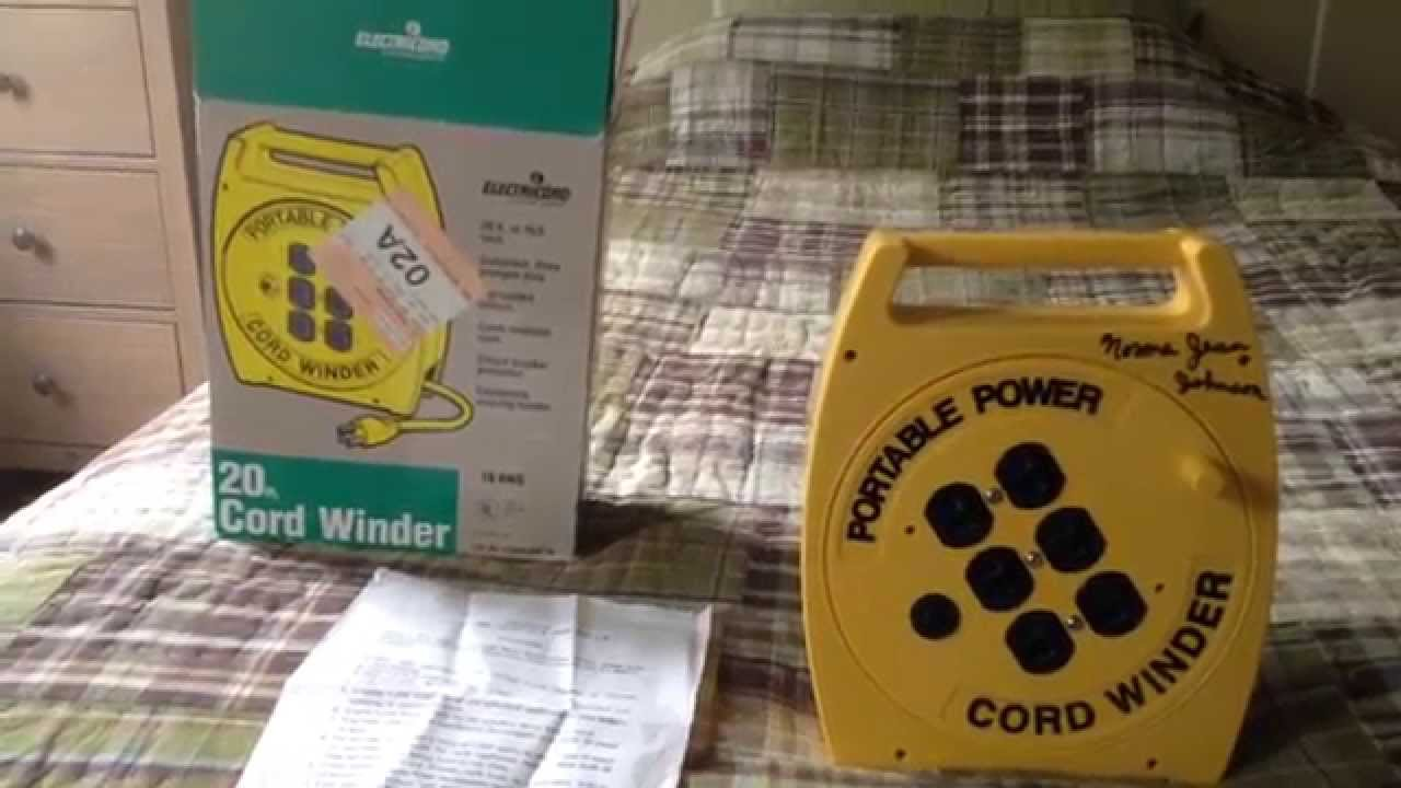 Electricord Cord 49616 3 Wire 6 Ft Electric Range Sears Outlet Winder Youtube