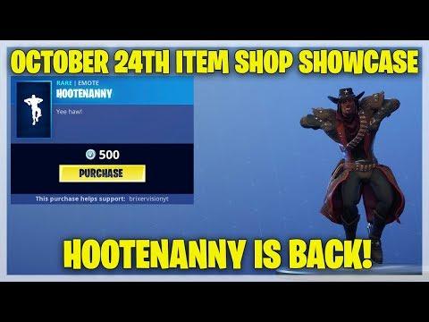 Fortnite Item Shop [October 24th, 2018] (Fortnite Battle Royale)