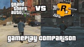 GTA V vs. Past Rockstar Games (Gameplay Comparison)