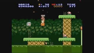 Let's Play Super Mario Bros. 1X [SMW-Hack] - Part 3 - Aggressive Fische im Sumpftümpel