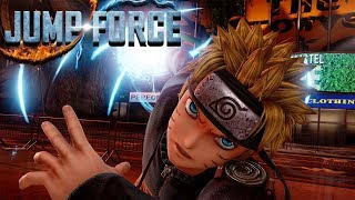 Jump Force Closed Beta Gameplay! Session #1