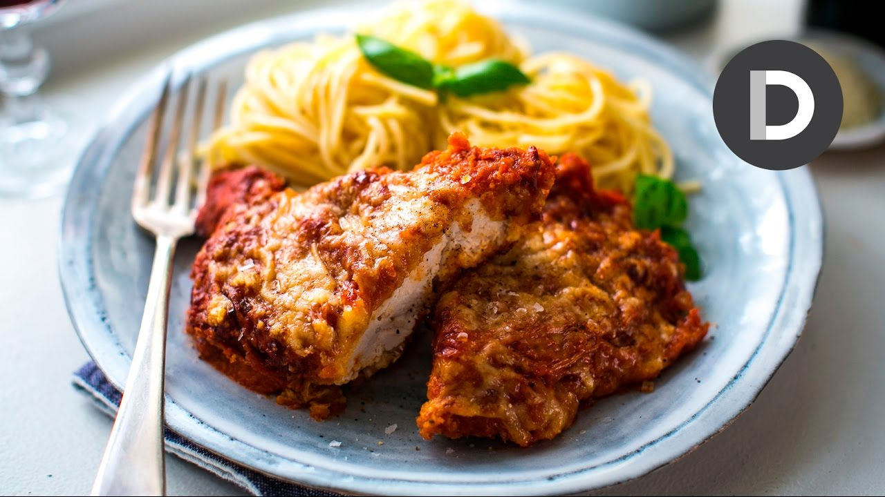 How To Make Chicken Parmesan Youtube