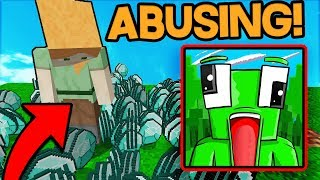 HACKING ON UNSPEAKABLEGAMINGS SERVER! (Minecraft Trolling)