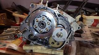 Сборка двигателя Kayo T2 169FMM 166FMM. Ремонт коробки передач