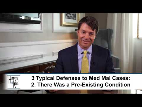 What Defenses Will You Face When You Bring a Medical Malpractice Case? – TX Attorney Chris King
