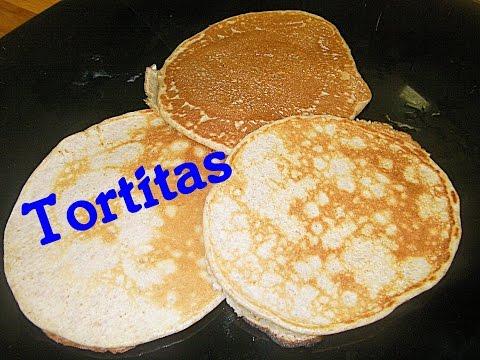 Receta -  Crepes o tortitas de plátano