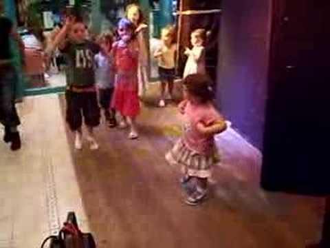 Kirsty dancing