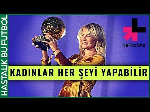 """Ada Hegerberg Hikayesi   """"Kadınlar Her Şeyi Yapabilir"""" #HeForShe"""