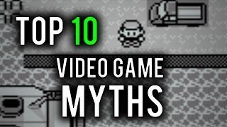 Repeat youtube video Top 10 Video Game Myths