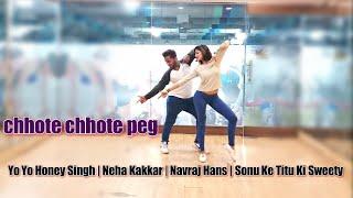 Chhote Chhote peg | Bollywood Zumba fitness choreography | Yo Yo Honey Singh and Neha Kakkar