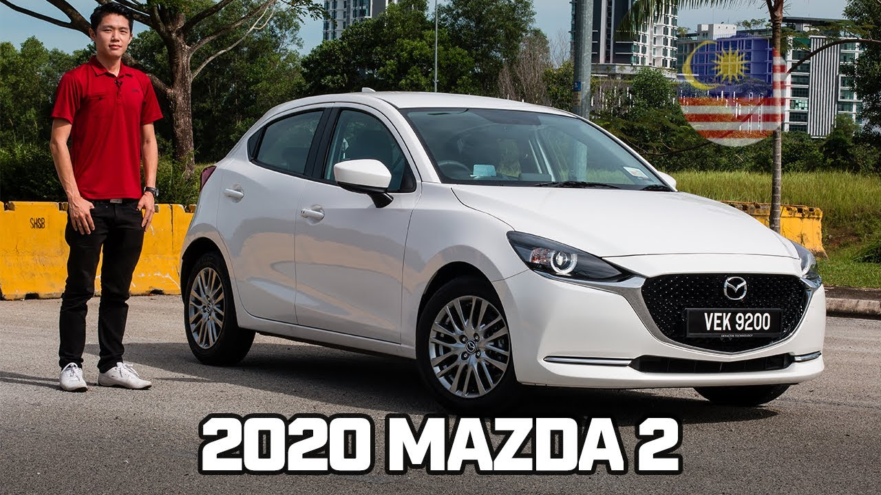 2020 改款版 Mazda 2 Facelift 加入 GVC Plus 支援 Android Auto 和 Apple CarPlay , 售價從 RM103,670  起 !