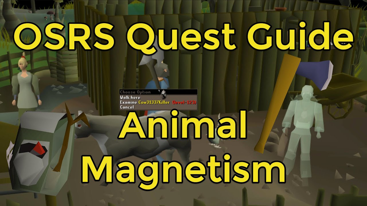 Osrs Animal Magnetism Youtube Animal magnetism's success calculations are a little more involved than most dq algorithms from the earlier period in the series. osrs animal magnetism