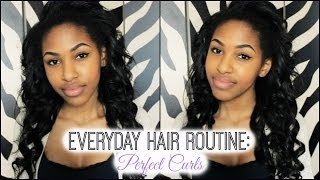Everyday Hair Routine: Perfect Curls! Thumbnail