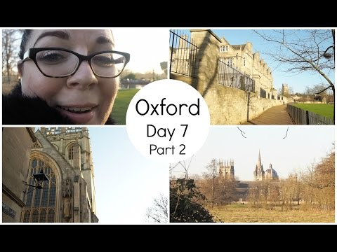 Visiting Oxford! - London Trip Day 7 - Part 2