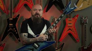 Dean Guitars ML Select Quilt Top - Ocean Burst