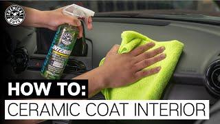 ALL NEW! How T๐ Ceramic Coat Interior! - Chemical Guys