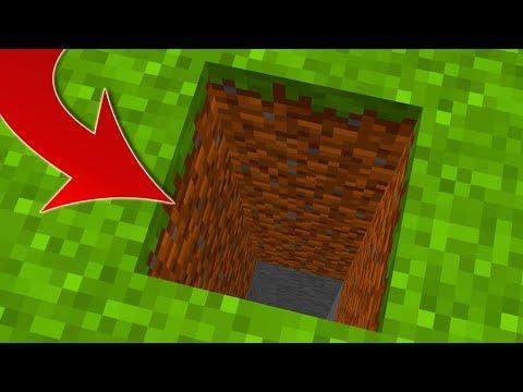 DYBESTE HUL!? Dansk Minecraft