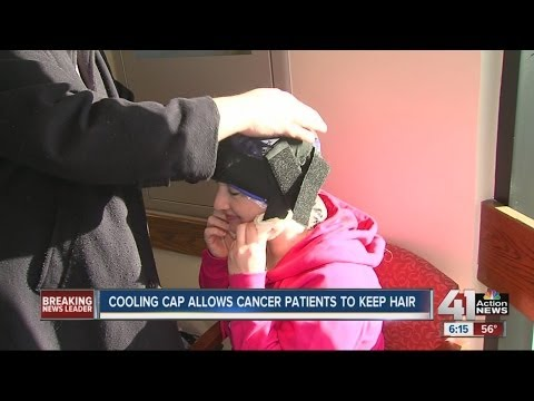 Cooling cap allows cancer patients to keep hair during chemo