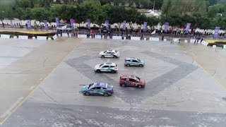 China Electric Vehicle Rally kicks off in northwestern China