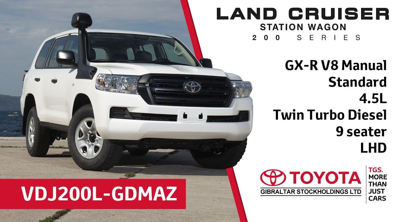 Toyota Land Cruiser 200 Series standard V8 - 4.5 Twin ...