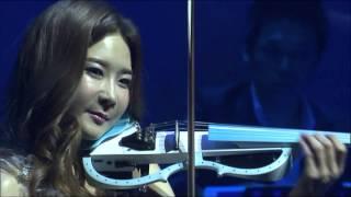 """[팝 바이올리니스트 박은주] 알비노니 아다지오(Albinoni Adagio) 베토벤 바이러스, Korean Pop Violinist """"겨울이야기"""" 콘서트"""