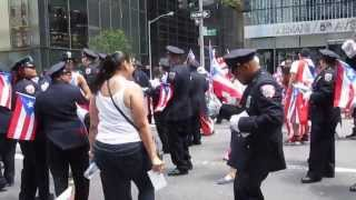 Puerto Rican Day Parade in New York City  -  DJ Shadee and Correction  -  Clip 21  -  June 09, 2013