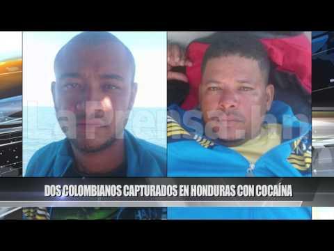 Teleislas News - Dos colombianos capturados en Honduras con cocaína