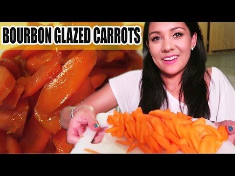 HONEY BOURBON GLAZED CARROTS! | Thanksgiving Sides - #TastyTuesday