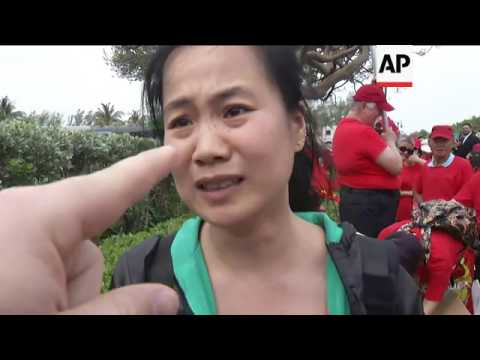 Protester Accuses Chinese Government of Abuse