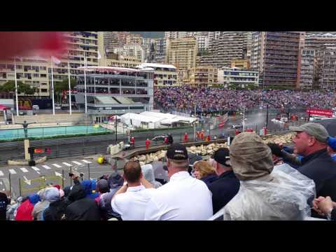 Monaco Grand Prix Tribune O - Lap 1 2016