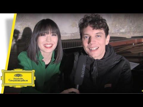 "Alice Sara Ott & Francesco Tristano - ""Scandale"" (Making Of)"