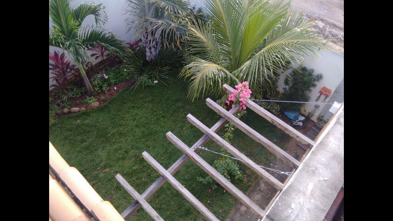 Como montar um jardim com baixo custo YouTube -> Como Decorar Um Jardim Pequeno