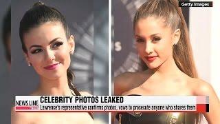 Private photos of over 100 celebrities leaked online   미국 여배우 사진 대량유출...애플 보안 비