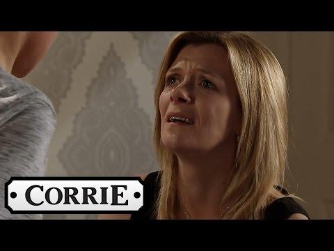 Leanne Tries To Explain Her Past To Simon - Coronation Street