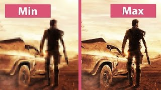Mad Max PC Min vs. Max Graphics Comparison FullHD 60fps