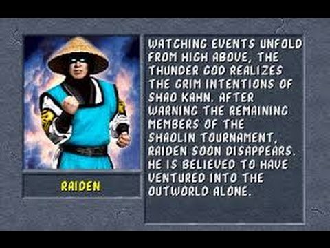 Mortal Kombat II (Arcade) Raiden Gameplay on Very Hard no Continues