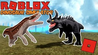Roblox Dinosaur Simulator - New Fasolasuchus and Azazel! (Broke Boy)