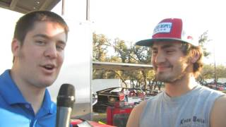 Gettin' the dirt on Ben Kates at Shady Oaks Speedway