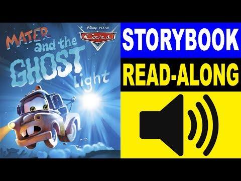Cars Read Along Story book  Cars  Mater and the Ghost Light  Read Aloud Story Books for Kids