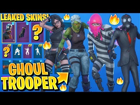 *NEW* All Leaked Halloween Skins & Emotes..! *Free Rewards & GHOUL TROOPER* (Teef, Chaos Agent)