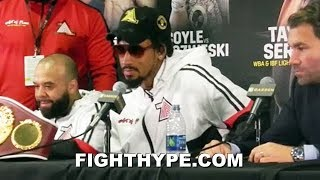 DEMETRIUS ANDRADE FULL POST-FIGHT AFTER DOMINATING KAUTONDOKWA; TALKS CANELO, GGG, JACOBS AND MORE