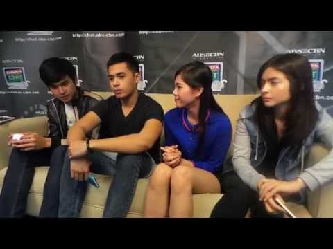 """Be Careful With My Heart"" teens at Kapamilya Chat"