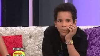 El pequeño Diomedes se robó el show En las Mañanas con Uno