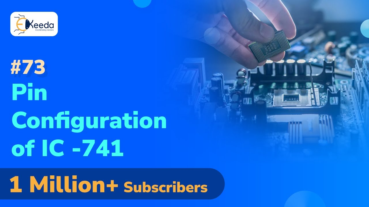Pin Configuration of IC 9   Operational Amplifier OP AMP   Analog  Electronics